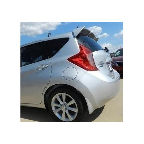 Unpainted 2014-2016 Nissan Versa Note 5DR Spoiler Factory Style