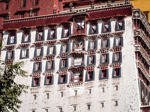 The Potala Palace in Lhasa.