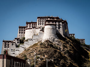 The Potala Palace in Lhasa, Tibet.