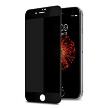 TECHO Privacy Screen Protector for iPhone 8 7 6S 6, [Full Coverage] [Case Friendly] [Super Clear] Anti-Spy 9H Hardness Tempered Glass Screen Protectors (Black)