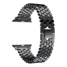 TECHO Link Stainless Steel Strap Band for Apple Watch Series 4 3 2 1