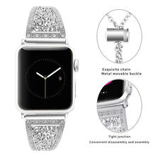 TECHO Diamond Rhinestone Bling Band for Apple Watch Series 4 3 2 1