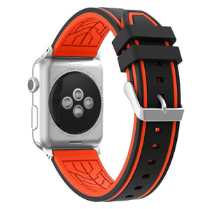 TECHO Soft Silicone Sport Band for Apple Watch Series 4 3 2 1