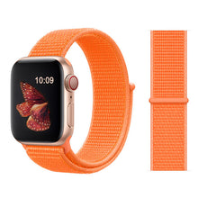 TECHO Sport Loop Breathable Nylon Lightweight Band for Apple Watch Series 4 3 2 1