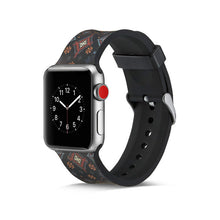 TECHO Colorful Soft Silicone Band for Apple Watch Series 4 3 2 1