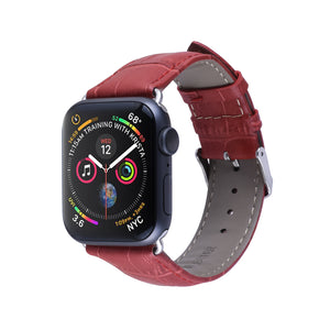 TECHO Leather Band Strap for Apple Watch Series 4 3 2 1
