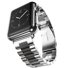 TECHO Stainless Steel Strap for Apple Watch 42mm 38mm Series 1/2/3 Metal Watchband Bracelet for IWatch Series 4 44mm 40mm