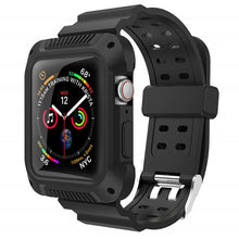 TECHO Silicone Sport Band with Case for Apple Watch Series 4 3 2 1
