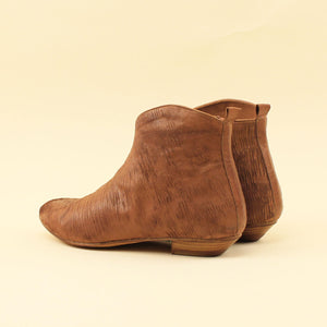 Ankle boot in nappa