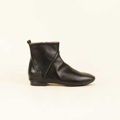 Ankle boot in pelle tuffata - Kudetà