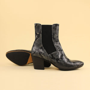 Chelsea boot in pitone