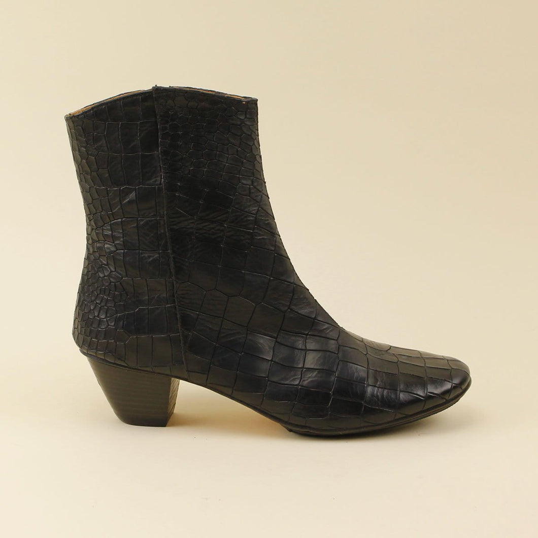 Ankle boot in cocco