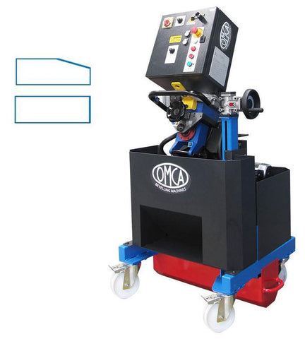 OMCA ART900 Big Plus plate bevel machine