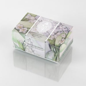 La Florentina Soap Lily of the Valley Natural Tuscan soap 300g
