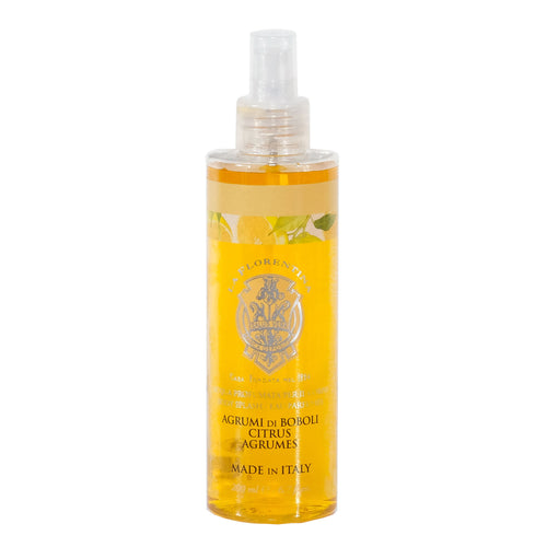 La Florentina Body Splash Agrumi di Boboli Citrus Natural Tuscan Scent 200ml Italian Luxury Group