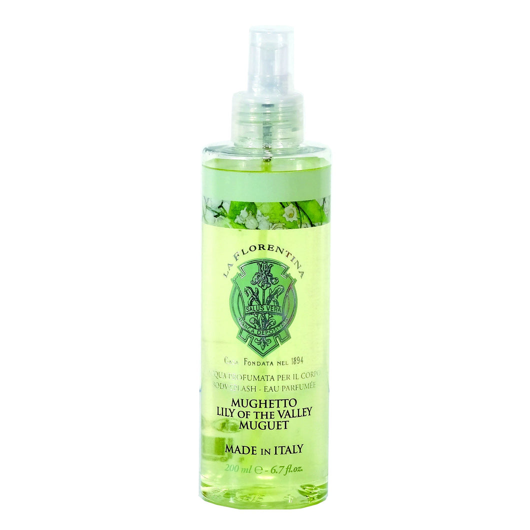 La Florentina Body Splash Lily of the Valley Perfumed Water Spray 200ml