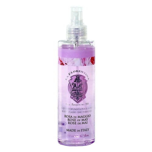 La Florentina Rose of May Body Splash Perfumed Water Spray 200ml