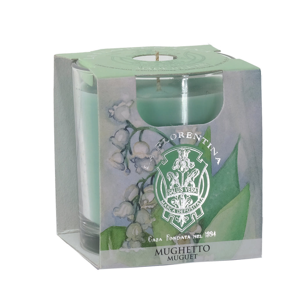 La Florentina Scented Candle Lily of the Valley 160g