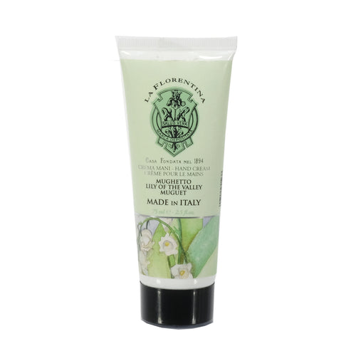 La Florentina Hand Cream Lily of the Valley Natural Tuscan Moisturising 75ml body care skincare body products