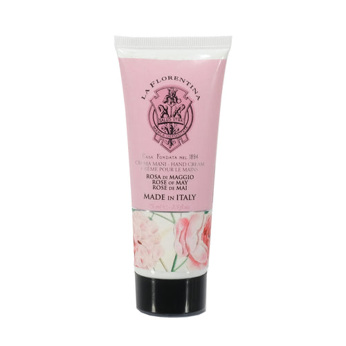 La Florentina Hand Cream Rose of May Natural Tuscan Moisturising 75ml body care products skincare