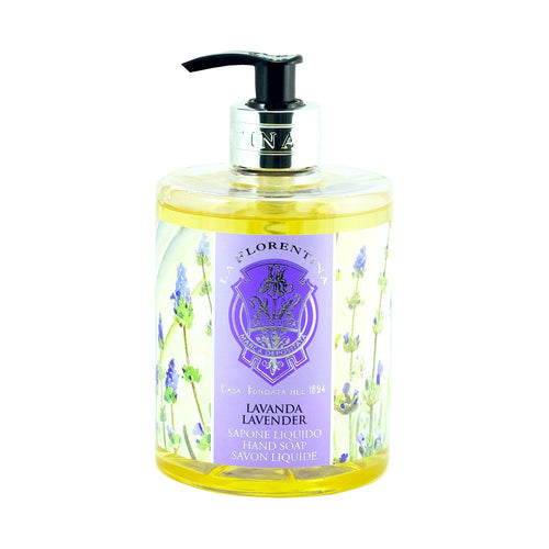 La Florentina Hand Wash Liquid Soap Lavender Natural Tuscan Scent 500ml