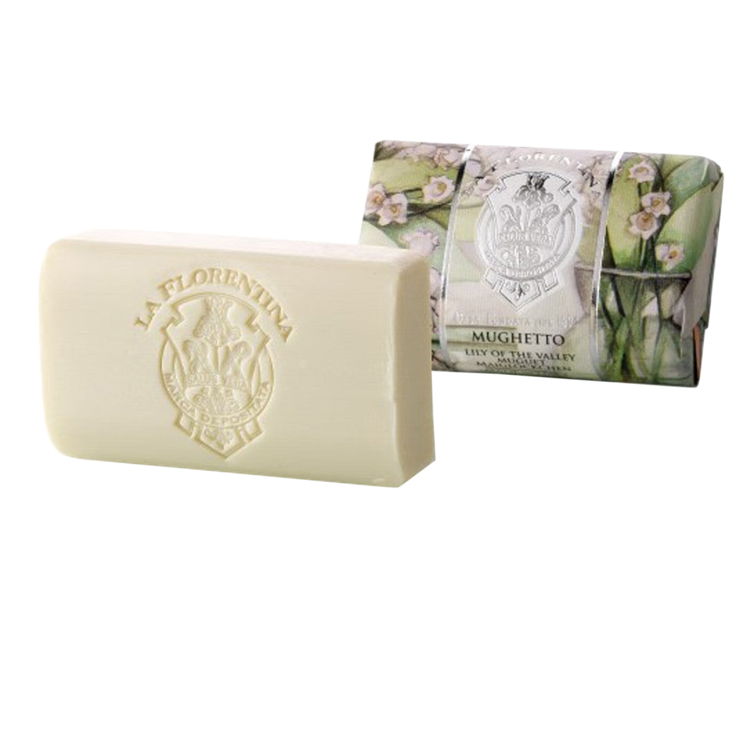 La Florentina Lily of the Valley 200g Bar Soap