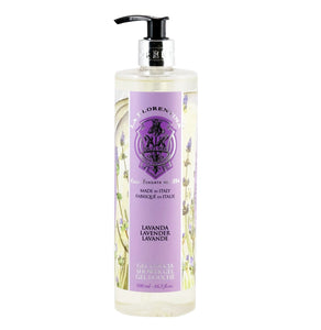 La florentina Lavender shower gel tuscan pump liquid soap body care italian hand made luxury product