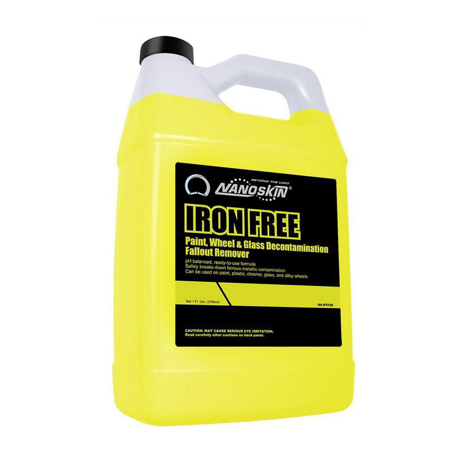 Nanoskin's / Iron Free / Paint, Wheel & Glass Decontamination