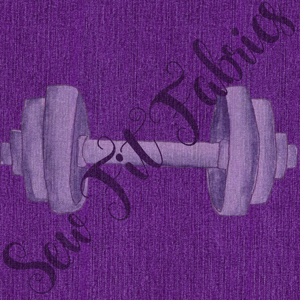 """Denim"" SUPPLEX purple"