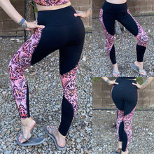 "Load image into Gallery viewer, ""Tempo Tights"" color blocked leggings"