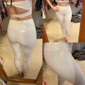 White Shimmer Athletic