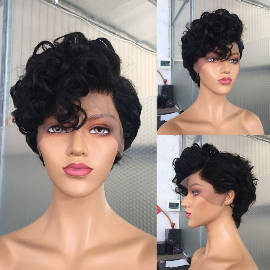 Desire Pixie Cut Human Hair Wigs