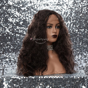 13''×4'' Shawty Originals Loose Curly Synthetic Wigs
