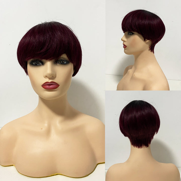 Shawty Select Pixie Cut Human Hair Wigs