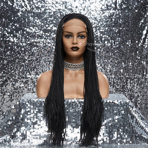13''×4'' Shawty Originals Thin Braids Synthetic Wigs