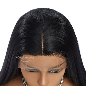 13''×4'' Shawty Originals Yaki Straight Synthetic Wigs