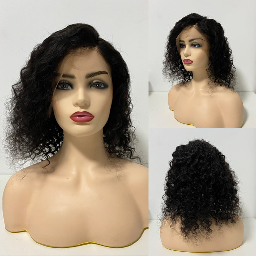 360 Deep Wave Human Hair Wigs
