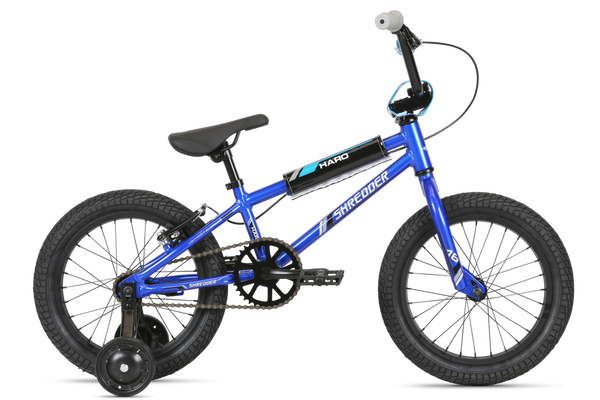 "Haro Shredder 16"" Metallic Blue Alloy frame"