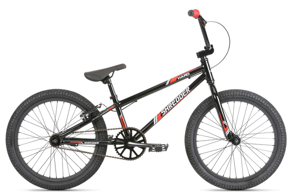 "Haro Shredder 20"" Black/Red 19""TT Alloy frame"