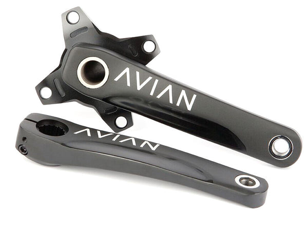 Avian Cadence 2pc Cranks / Black / 170mm