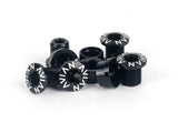 Avian Alloy Chainring Bolts / Black / Short