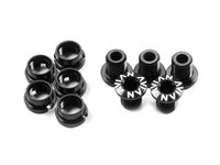 Avian CrMo Chainring Bolts / Black / Short