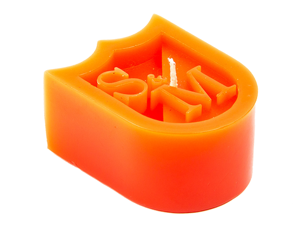 S & M Shield Wax Candle