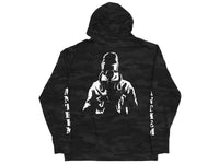 Anthem Zip Up Hoodie / Black Camo / XL