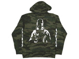 Anthem Zip Up Hoodie / Forest Camo / XL