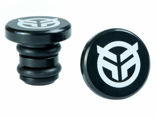 Federal Alloy Bar Ends / Black