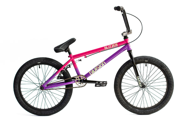 "Division Blitzer 20"" Bike - Pink / Purple Fade"