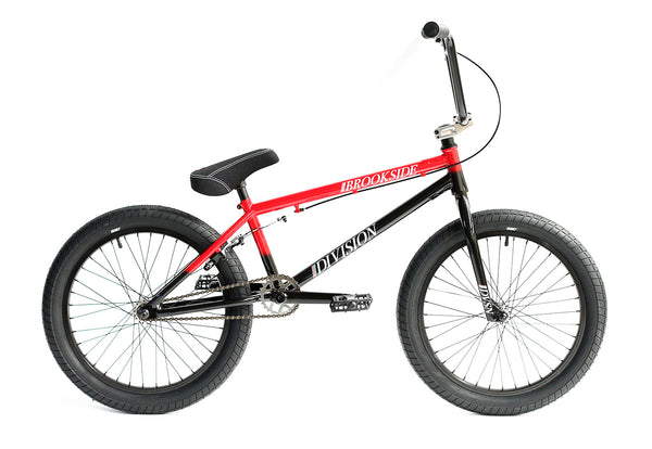 Division Brookside Bike - Black/Red Fade