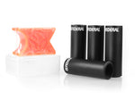 Federal 4.15in Plastic/Alloy Peg and Wax Kit / Orange Wax