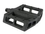 Federal Contact Plastic Pedal / Black / 9/16in